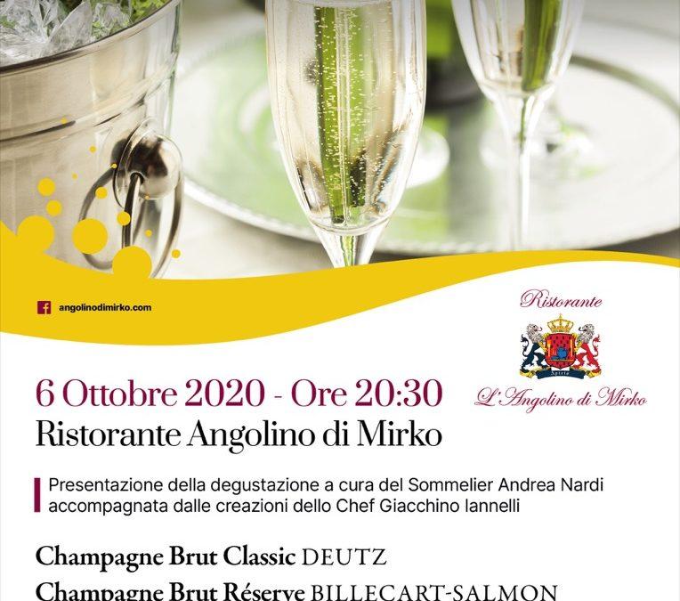 Madames et Mensieurs. Ce soir… Champagne!